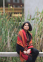 10102014 Seattle U Magazine, portrait shoot, Rishi Meenakshi, Professor of Economics & Howard J. Bosanko Professor of International Economics and Finance, Director of International Development Internship Program, Albers School of Business and Economics