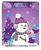 Dreams, CHRISTMAS ANIMALS, WEIHNACHTEN TIERE, NAVIDAD ANIMALES, Christmas Santa, Snowman, Weihnachtsmänner, Schne, paintings+++++,MEDAGBX44/2,#XA#
