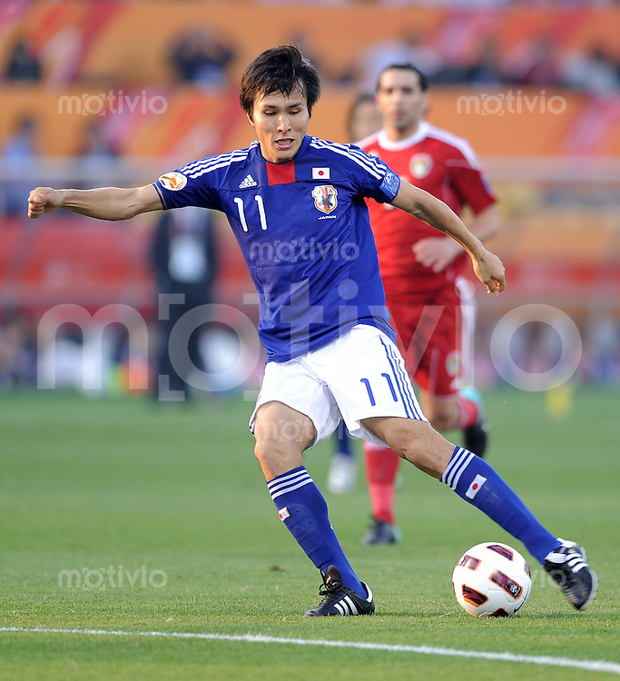 Fussball AFC Asian Cup 2011    09.01.2011 Japan - Jordanien Ryoichi Maeda (Japan)