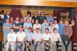 40TH: Locals gathered at The Abbey Tavern, Ardfert, to celebrate Justin Horgan's (seated 4th from left) 40th Birthday on Monday night..