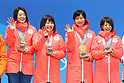PyeongChang 2018: Speed Skating: Ladies' Team Pursuit Medal Ceremony
