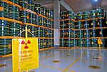 Depósito de rejeitos radioativos. Usina Nuclear Angra 2. Angra dos Reis. Rio de Janeiro. 2007. Foto de Luciana Whitaker.