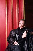 1991: KING CRIMSON - Robert Fripp photosession in Paris France