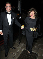 Percy Gibson and Dame Joan Collins at the Shooting Star CHASE Ball, The Dorchester Hotel, Park Lane, London, England, UK, on Saturday 30 September 2017.<br /> CAP/CAN<br /> &copy;CAN/Capital Pictures /MediaPunch ***NORTH AND SOUTH AMERICAS ONLY***