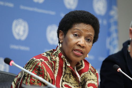 La directora ejecutiva de ONU Mujeres, Phumzile Mlambo-Ngcuka.