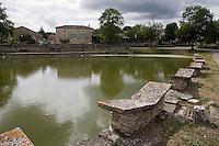 Europe/France/Midi-Pyrénées/46/Lot/Aujols: Les Lavoirs Papillon du lac d'Aujols