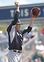 Masahiro Tanaka (Yankees),<br /> MARCH 31, 2015 - MLB :<br /> Pitcher Masahiro Tanaka of the New York Yankees during a spring training baseball game against the Minnesota Twins at CenturyLink Sports Complex in Fort Myers, Florida, United States. (Photo by AFLO)