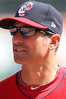 April 14, 2010:  Manager Torey Lovullo of the Pawtucket Red Sox before a game at Coca-Cola Field in Buffalo, New York.  Pawtucket is the Triple-A International League affiliate of the Boston Red Sox.  Photo By Mike Janes/Four Seam Images