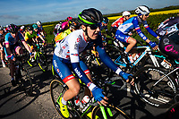 Picture by Alex Whitehead/SWpix.com - 03/05/2018 - Cycling - 2018 Asda Women's Tour de Yorkshire - Stage 1: Beverley to Doncaster - Dani Rowe of Great Britain in action.