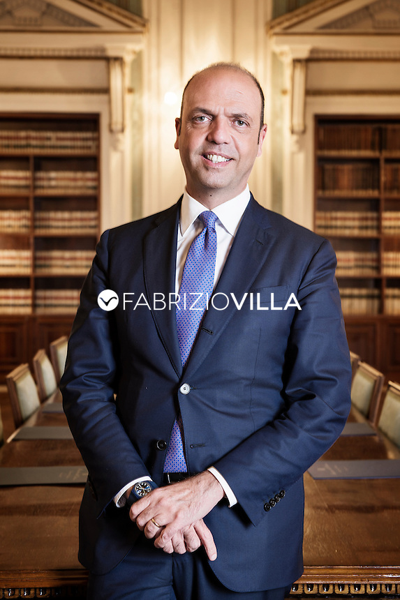 Angelino Alfano Ministro dell'Interno