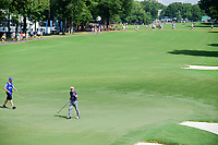 Soren Kjeldsen (DNK) after sinking his putt on 10 during Friday's round 2 of the PGA Championship at the Quail Hollow Club in Charlotte, North Carolina. 8/11/2017.<br /> Picture: Golffile | Ken Murray<br /> <br /> <br /> All photo usage must carry mandatory copyright credit (&copy; Golffile | Ken Murray)