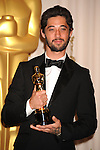 HOLLYWOOD, CA. - March 07: Musician Ryan Bingham  poses in the press room at the 82nd Annual Academy Awards held at the Kodak Theatre on March 7, 2010 in Hollywood, California.