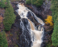 Pattison State Park, Wisconsin:<br /> Big Manitou Falls on the Black River