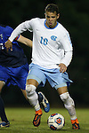 28 November 2015: North Carolina's Zach Wright. The University of North Carolina Tar Heels hosted the Creighton University Bluejays at Fetzer Field in Chapel Hill, NC in a 2015 NCAA Division I Men's Soccer Tournament Third Round match. Creighton won the game 1-0.