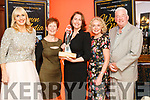 Katie Hannon winner of the Mary Cummins Award at the Women in Media event, in Ballybunion on Saturday.