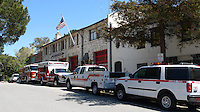 CARMEL - APR 29: Fire station in Carmel, California on April 29, 2011.