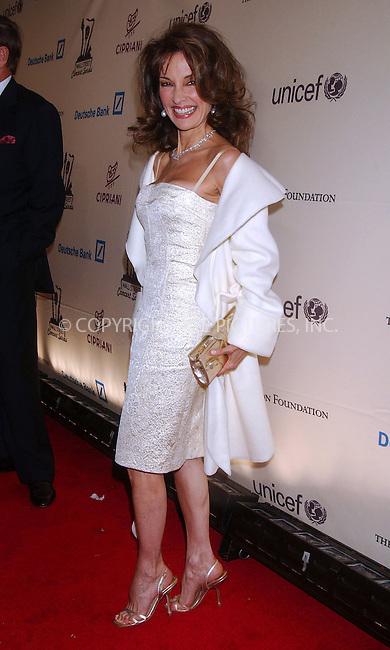 WWW.ACEPIXS.COM . . . . .....April 17 2007, New york City....Actress Susan Lucci arriving at the Cipriani Wall Street Concert Series benefiting UNICEF & the Sarah Ferguson Foundation at Cipriani Wall Street.  ....Please byline: Kristin Callahan - ACEPIXS.COM..... *** ***..Ace Pictures, Inc:  ..Philip Vaughan (646) 769 0430..e-mail: info@acepixs.com..web: http://www.acepixs.com