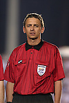 Referee Alex Prus on Tuesday, March 27th, 2007 at SAS Stadium in Cary, North Carolina. The Honduras Men's National Team defeated El Salvador 2-0 in a men's international friendly.