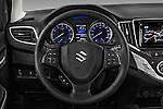 Car pictures of steering wheel view of a 2016 Suzuki Baleno Skycruise 2 Door Convertible Steering Wheel