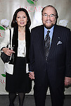 James Lipton & wife.attending the Broadway Opening Night Performance of 'Arcadia' at the Barrymore Theatre in New York City
