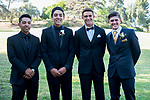 Tessa and her friends take pictures prior to their senior prom at Valencia HS.
