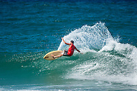 Burleigh Heads, Queensland, Australia. (Sunday, January 8, 2017) - With thousands of people packing out the headland at Burleigh Heads Joel Parkinson (AUS) took out the 2017 Burleigh Boardriders&rsquo; Single Fin Classic.<br /> <br /> The former world champion and current world number nine surfer battled against young up and comers and older Burleigh stalwarts for two day to win the event in front of a crowd of over 3000 people.<br /> <br /> &ldquo;This is such an honour, I can&rsquo;t believe how much fun this weekend has been,&rdquo; Parko said later.<br /> <br /> It is the first time Parkinson had entered the event, where competitors surf on single fin pre-1985 surfboards.<br /> <br /> There is no prize money offered, so surfers battle for the prestige of the event, which has now been running for 20 years.<br /> <br /> North End Boardrider Luke Hynd (AUS) came second in the event with Burleigh Boardrider James Lewis (AUS) coming in third.<br /> <br /> Up-and-coming Burleigh surfer Maddy Job (AUS) took out the junior division. Photo: joliphotos