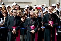 Roma,10 Giugno 2017<br /> Arcivescovo Georg G&auml;nswein<br /> Papa Francesco in visita al Quirinale