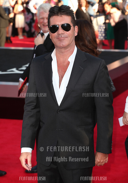 Simon Cowell at the UK Premiere of 'One Direction, This Is Us' at the Empire Leicester Square, London. 20/08/2013 Picture by: Alexandra Glen / Featureflash