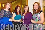 Enjoying the Fashion show in aid of MS Ireland in Ballyroe Hotel on Saturday Pictured  Bernie Gleeson, Avril Gleeson, Angela O'Regan, Treasa Lee.