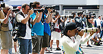 05 Apr 2009, Kuala Lumpur, Malaysia --- Media photographers covering the 2009 Fia Formula One Malasyan Grand Prix at the Sepang circuit near Kuala Lumpur. Photo by Victor Fraile --- Image by © Victor Fraile / The Power of Sport Images