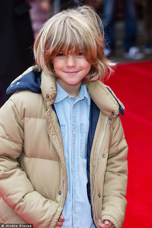 Harry Hickles attends the UK Premiere of The Lego Movie at the Vue West End in Leicester Square, London on February 9th, 2014.