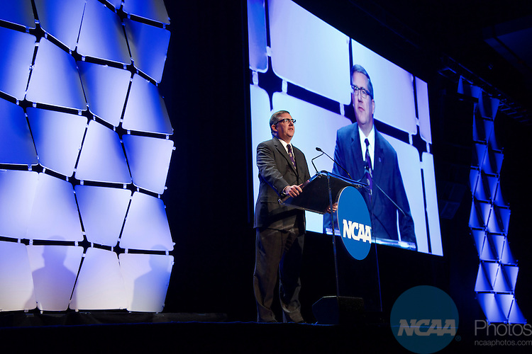 15 JAN 2016:  The NCAA Honor's Celebration takes place during the 2016 NCAA Convention at the Grand Hyatt San Antonio in San Antonio, TX.   Jamie Schwaberow/NCAA Photos  (Pictured:  Kirk Schulz)