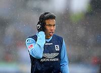 Football: Germany, 2. Bundesliga.Bobby Wood (1860 Muenchen).© pixathlon