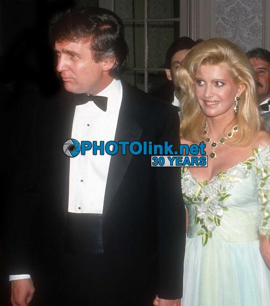 IvanaTrump and Donald Trump Undated<br /> Photo By John Barrett/PHOTOlink