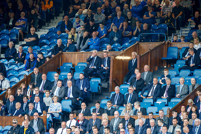 28.07.2019 Rangers v Derby County: Rangers directors box