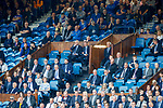 28.07.2019 Rangers v Derby County: Rangers directors box