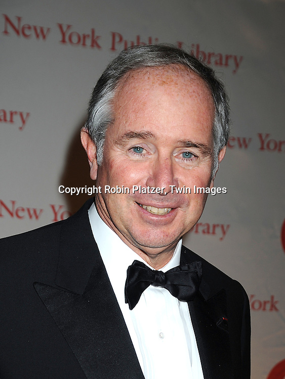 Stephen Schwarzman..arriving at The New York Public Library 2008 Library Lions Benefit Gala on November 3, 2008 at The New York Public Library at 42nd Street and 5th Avenue.....Robin Platzer, Twin Images