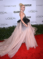 LOS ANGELES, CA. November 14, 2016: Singer Gwen Stefani at the Glamour Magazine 2016 Women of the Year Awards at NeueHouse, Hollywood.<br /> Picture: Paul Smith/Featureflash/SilverHub 0208 004 5359/ 07711 972644 Editors@silverhubmedia.com