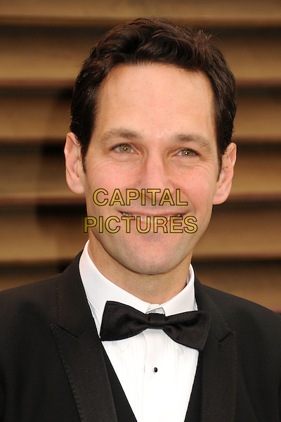 02 March 2014 - West Hollywood, California - Paul Rudd. 2014 Vanity Fair Oscar Party following the 86th Academy Awards held at Sunset Plaza.  <br /> CAP/ADM/BP<br /> &copy;Byron Purvis/AdMedia/Capital Pictures