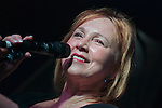 """Jazz vocalist Roseanna Vitro performed songs from her latest Motema Music release """"The Music of Randy Newman"""" during a performance at Trumpets Jazz Club in Montclair, NJ."""