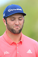 Jon Rahm (ESP) walks off the 17th tee during Sunday's Final Round of the Dubai Duty Free Irish Open 2019, held at Lahinch Golf Club, Lahinch, Ireland. 7th July 2019.<br /> Picture: Eoin Clarke | Golffile<br /> <br /> <br /> All photos usage must carry mandatory copyright credit (© Golffile | Eoin Clarke)