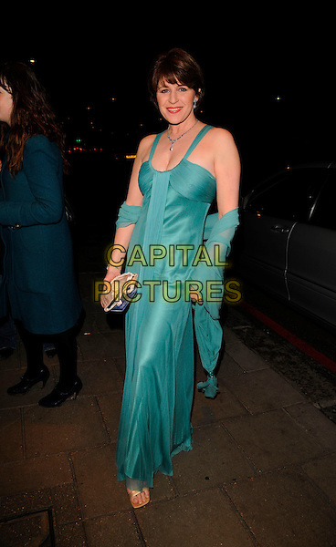 ROSMARY FORD.Attending Bruce Forsythe's 80th Birthday Party, at The Dorchester Hotel, London, England, February 22nd 2008..full length green dress  wrap shawl.CAP/CAN.?Can Nguyen/Capital Pictures