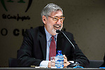 "American director John Landis during the press conference to present the book ""John Landis. Un Hombre Lobo en Hollywood"" in Madrid. May 27, 2016. (ALTERPHOTOS/Borja B.Hojas)"