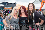 Betty Sugrue, Brenda and Rhiannon Cremins Castleisland at  Bikefest in Killarney on Sunday