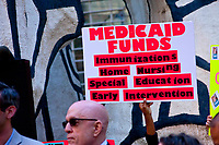 Rally in Support of Medicaid Chicago Illinois June 6th, 2017