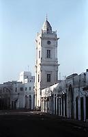 Libyan Arab Jamahiriya   .Tripoli       June 2002. The Medina,The Clock Tower.Libia Tripoli  Giugno 2002.La Medina, La Torre dell'Orologio.