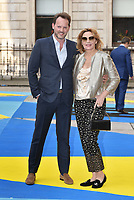 boyfriend Russell Thomas, Kim Cattrall<br /> Royal Academy of Arts Summer Exhibition Preview Party at The Royal Academy, Piccadilly, London, England on June 06, 2018<br /> CAP/Phil Loftus<br /> &copy;Phil Loftus/Capital Pictures