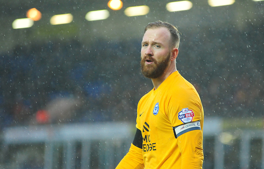 Peterborough United's Ben Alnwick<br /> <br /> Photographer Chris Vaughan/CameraSport<br /> <br /> Football - The Football League Sky Bet League One - Peterborough United v Fleetwood Town - Saturday 14th November 2015 - ABAX Stadium - Peterborough<br /> <br /> &copy; CameraSport - 43 Linden Ave. Countesthorpe. Leicester. England. LE8 5PG - Tel: +44 (0) 116 277 4147 - admin@camerasport.com - www.camerasport.com