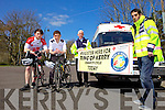 Help the Red Cross Kerry Branch by taking part in the Radio Kerry Ring of Kerry Cycle. Closing date for registration is this Saturday. Pictured were: Jason Teahan, Cillian Cusack, John McKiernan and Jason Wallcae.