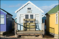 Mudeford beach hut sells for record £295,000.